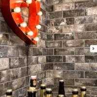 10x30cm 【磚片型磁磚】米白/磚紅/黑灰