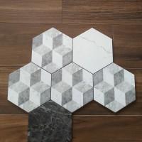 18.2x21cm【立體面六角磚】義大利